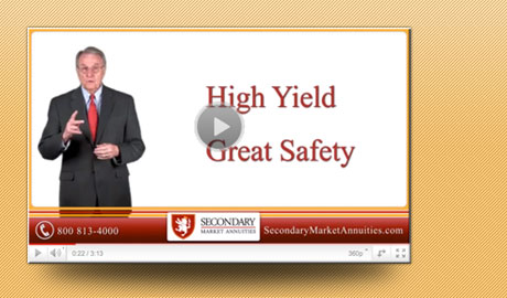 Image for Secondary market annuities provide <br>safe, high-yield opportunities for <br>savvy investors.